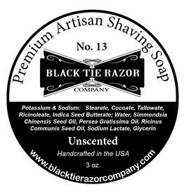 Black Tie Razor Company Black Tie Razor Co. Unscented Shaving Soap