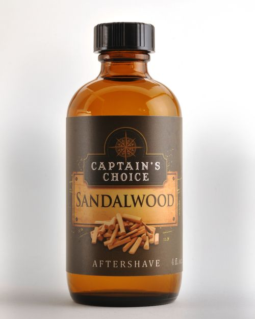 Captain's Choice Captain's Choice Aftershave Splash - Sandalwood