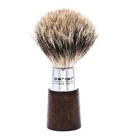 Parker Parker Wood & Chrome Pure Badger Brush