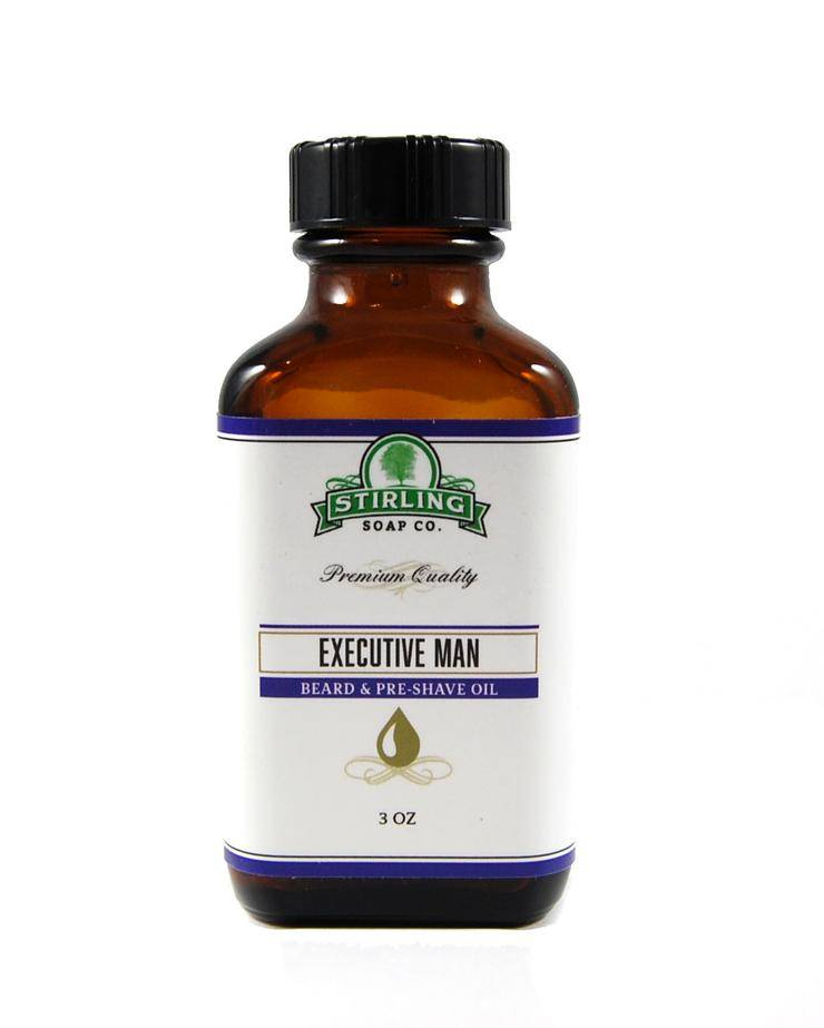 Stirling Soap Co. Stirling Beard & Pre-Shave Oil - Executive Man