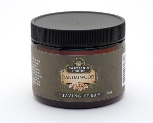 Captain's Choice Captain's Choice Shaving Cream - Sandalwood