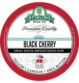 Stirling Soap Co. Stirling Shave Soap - Glacial Black Cherry