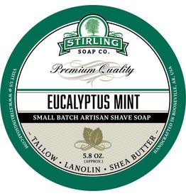 Stirling Soap Co. Stirling Shave Soap - Eucalyptus Mint