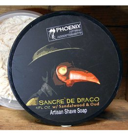 Phoenix Artisan Accoutrements PAA Sangre de Drago Shave Soap
