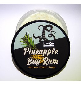 Phoenix Artisan Accoutrements PAA Pineapple Bay Rum Shave Soap