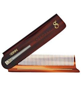 Suavecito Suavecito Deluxe Amber Folding Comb