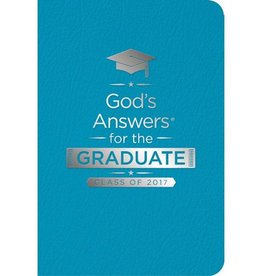 GOD'S ANSWERS FOR THE GRADUATE CLASS OF 2017 teal