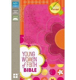NIV YOUNG WOMEN OF FAITH BIBLE PINK