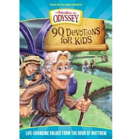 ADVENTURES IN ODYSSEY 90 DEVOTIONS FOR KIDS FROM THE BOOK OF MATTHEW