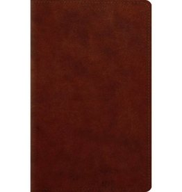 ESV LARGE PRINT PERSONAL SIZE BIBLE CHESNUT