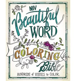 NIV - BEAUTIFUL WORD COLORING BIBLE