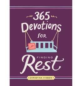 CHRISTINA VINSON 365 DEVOTIONS FOR FINDING REST