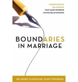 JOHN TOWNSEND Boundaries In Marriage