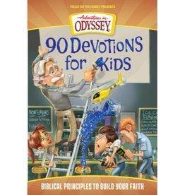 ADVENTURES IN ODYSSEY 90 DEVOTIONS FOR KIDS