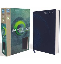 NIV REVOLUTION BIBLE FOR TEEN GUYS - BLUE