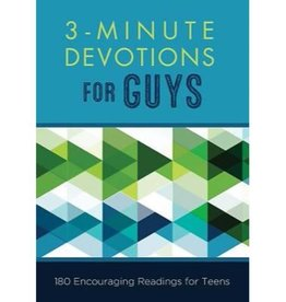 3 Mintue Devotions For Guys