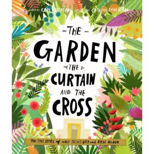 ALISON MITCHELL The Garden Curtain And Cross