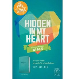 HIDDEN IN MY HEART NLT SCRIPTURE MEMORY BIBLE - IMITATION LEATHER