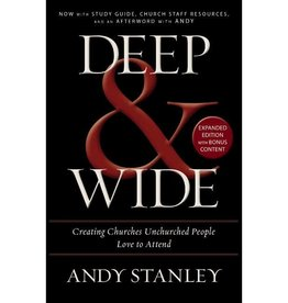 ANDY STANLEY Deep & Wide