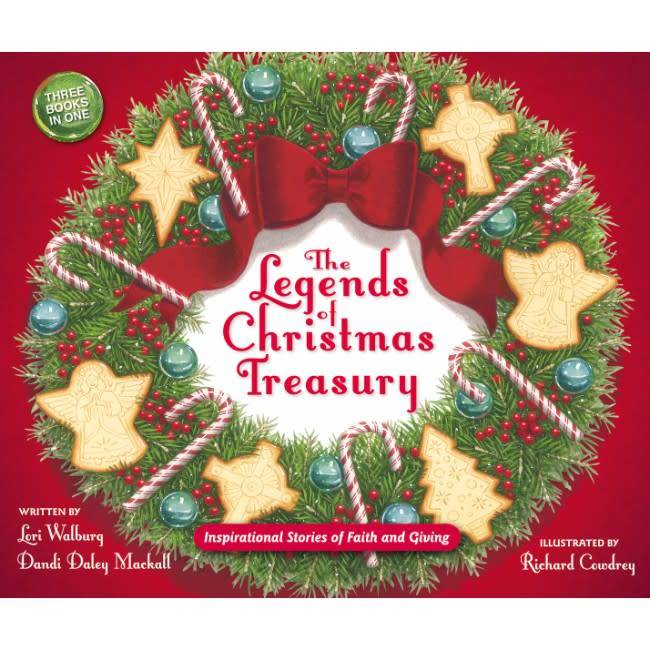 LORI WALBURG The Legend of Christmas Treasury - Seacoast Bookstore