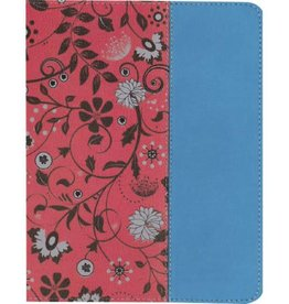 NIV Beautiful Word Coloring Bible for Teen Girls - Cranberry/Blue