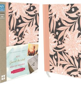 NIV Journal the Word Bible for Teen Girls - Pink/Floral