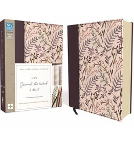 HELEN LEE NIV Journal The Word Bible - Pink Floral Cloth
