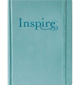 NLT Inspire Large Print Edition Journaling Bible