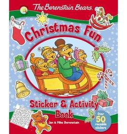 BERENSTEIN BEARS CHRISTMAS FUN STICKER & ACTIVITY BOOK