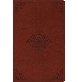 ESV Large Print Value Thinline Bible - Tan Ornament