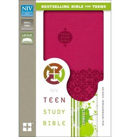 NIV - CRANBERRY TEEN STUDY BIBLE