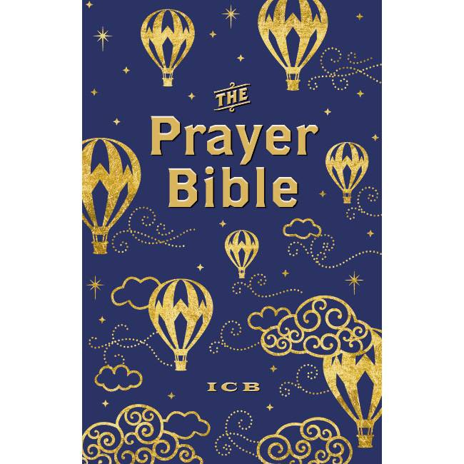 The Prayer Bible - Navy Gold