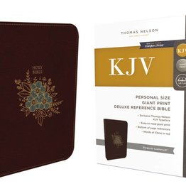 KJV Personal Size Giant Print Deluxe Reference Bible
