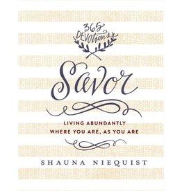 SHAUNA NIEQUIST Savor
