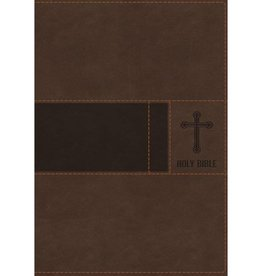 NIV Gift Bible Brown Indexed Red Letter
