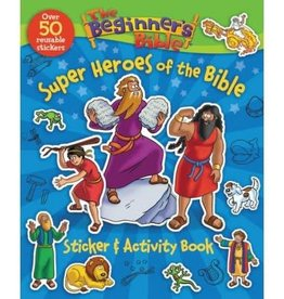 Super Heroes Of The Bible Sticker & Activity Book