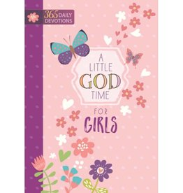 A Little God Time for Girls: 365 Daily Devotions