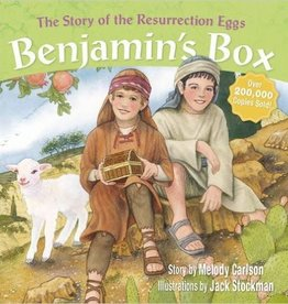 MELODY CARLSON BENJAMIN'S BOX: THE STORY OF RESURRECTION EGGS