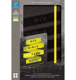 NIV Bible For Teen Guys - Charcoal