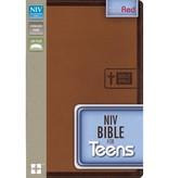 NIV BIBLE FOR TEENS IMITATION LEATHER BROWN