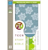NIV Teen Study Bible - French Teal
