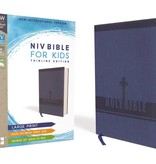 NIV Bible For Kids Large Print Thinline Edition - Blue