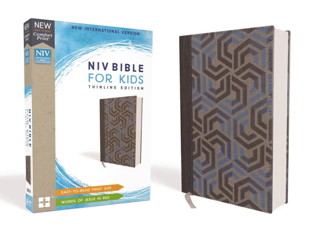 NIV Bible For Kids Thinline - Blue