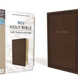 NIV Holy Bible Soft Touch Brown