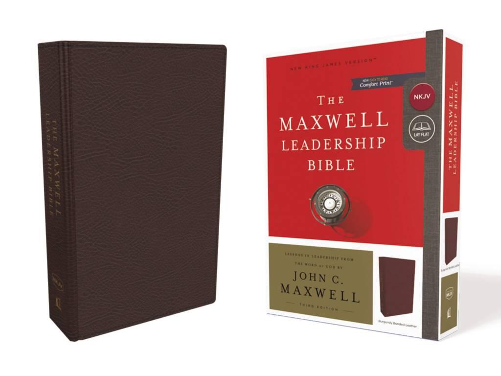 NKJV Maxwell Leadership Bible Burgundy