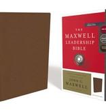 NKJV, Maxwell Leadership Bible, Third Edition, Premium Calfskin Leather, Brown, Comfort Print