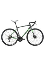 Giant 2018 GIANT Contend SL 1 Disc MD Matte Charcoal/Neon Green