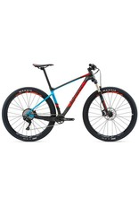 Giant 2018 GIANT XTC Advanced 29er 3 MD Charcoal/Blue/Neon Red