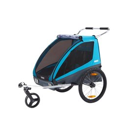 Thule Thule Coaster XT: Trailer and Stroller, Blue