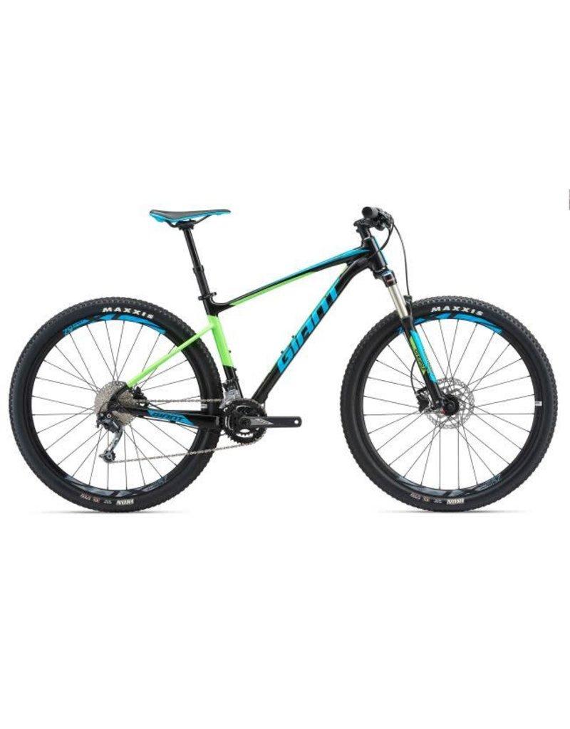 Giant 2018 Giant Fathom 29er 2 MD Black/Neon Green/Blue